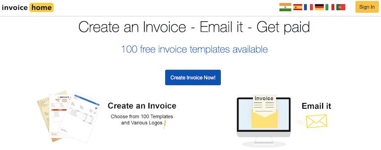 invoice-home