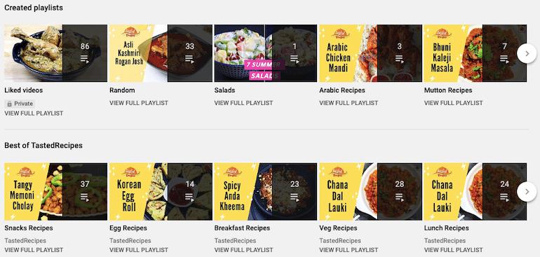 playlist-tasted-recipes