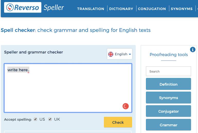 reverso-spell-checker