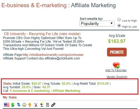 Clickbank Affiliate Search Marketplace