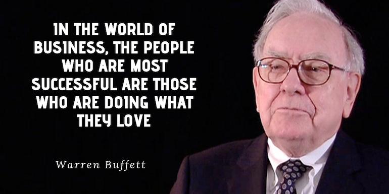 Warren Buffett Quote to Inspire Freelancers