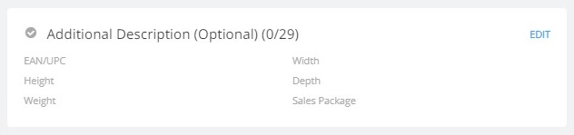 Additional product description (optional) in flipkart