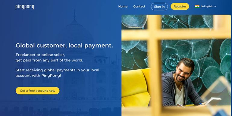 PingPongX - A True Payoneer Alternative for Freelancer in India