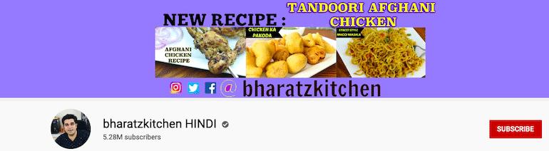 bharatz kitchen hindi Youtube