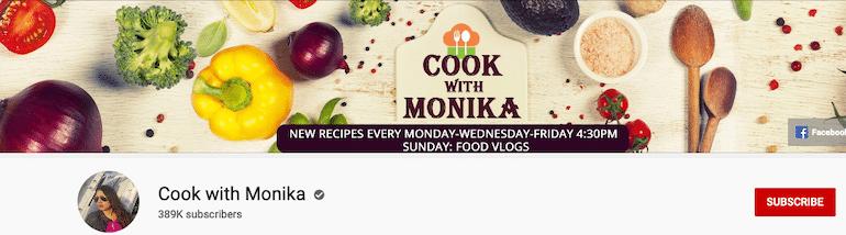 cook with monika