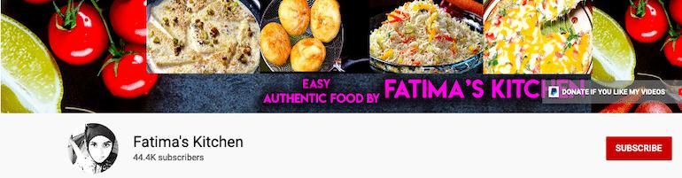 fatima's kitchen youtube