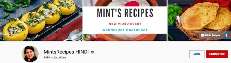mints recipes hindi