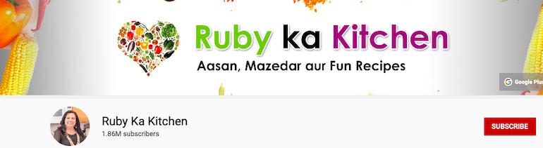 ruby ka kitchen
