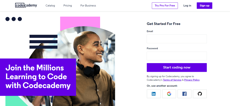Learn to Code - for Free Codecademy