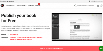 How to Self Publish a Book in India With Notionpress