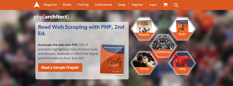 php architect The site for PHP professionals Magazine Training Books Conferences