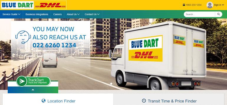 Blue Dart Express Limited logistics company
