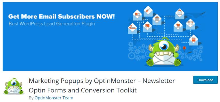 OptinMonster optin forms conversion toolkit wordpress woocommerce plugin