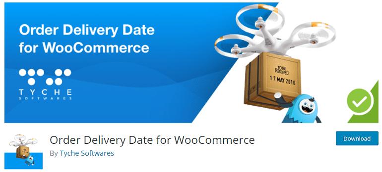 order delivery date woocommerce wordpress plugin