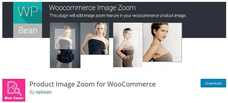 product image zoom woocommerce wordpress plugin