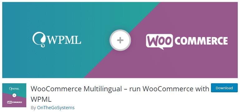 woocommerce multilingual wordpress plugin