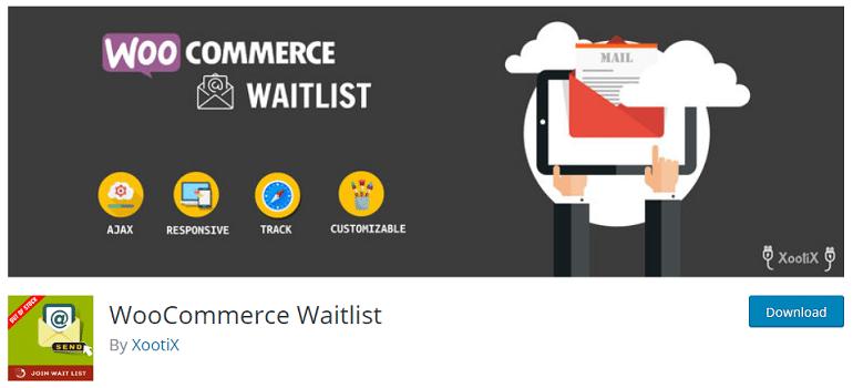 woocommerce waitlist wordpress plugin