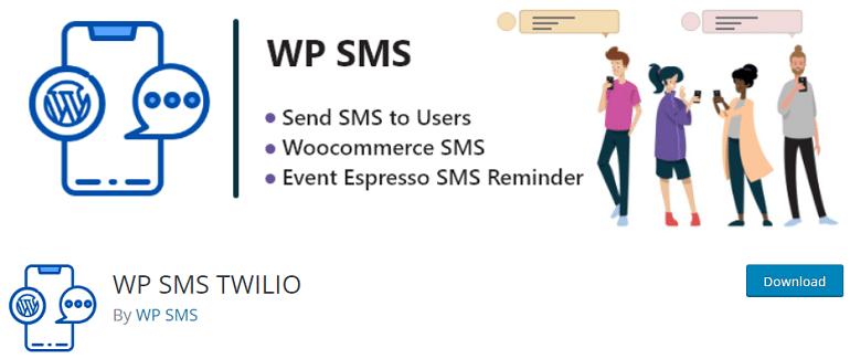 wp sms twilio wordpress woocommerce plugin