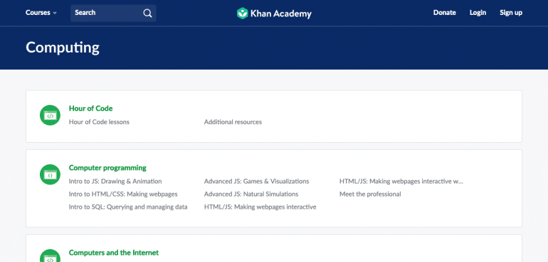 Become Self-Taught Developer with Khan Academy